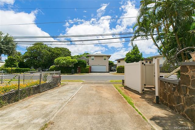 University Home Honolulu 96822 Single Family For Sold