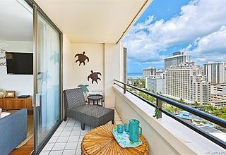 Waikiki Skytower Condo